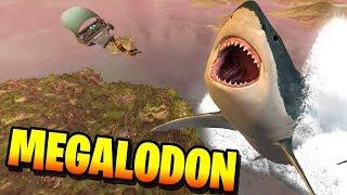 *New* Fortnite GIANT MEGALODON SHARK easter egg!