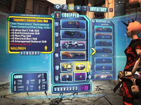 Borderlands 2 OP8 Mechromancer Build: Evil Electric Gaige | FunnyDog TV