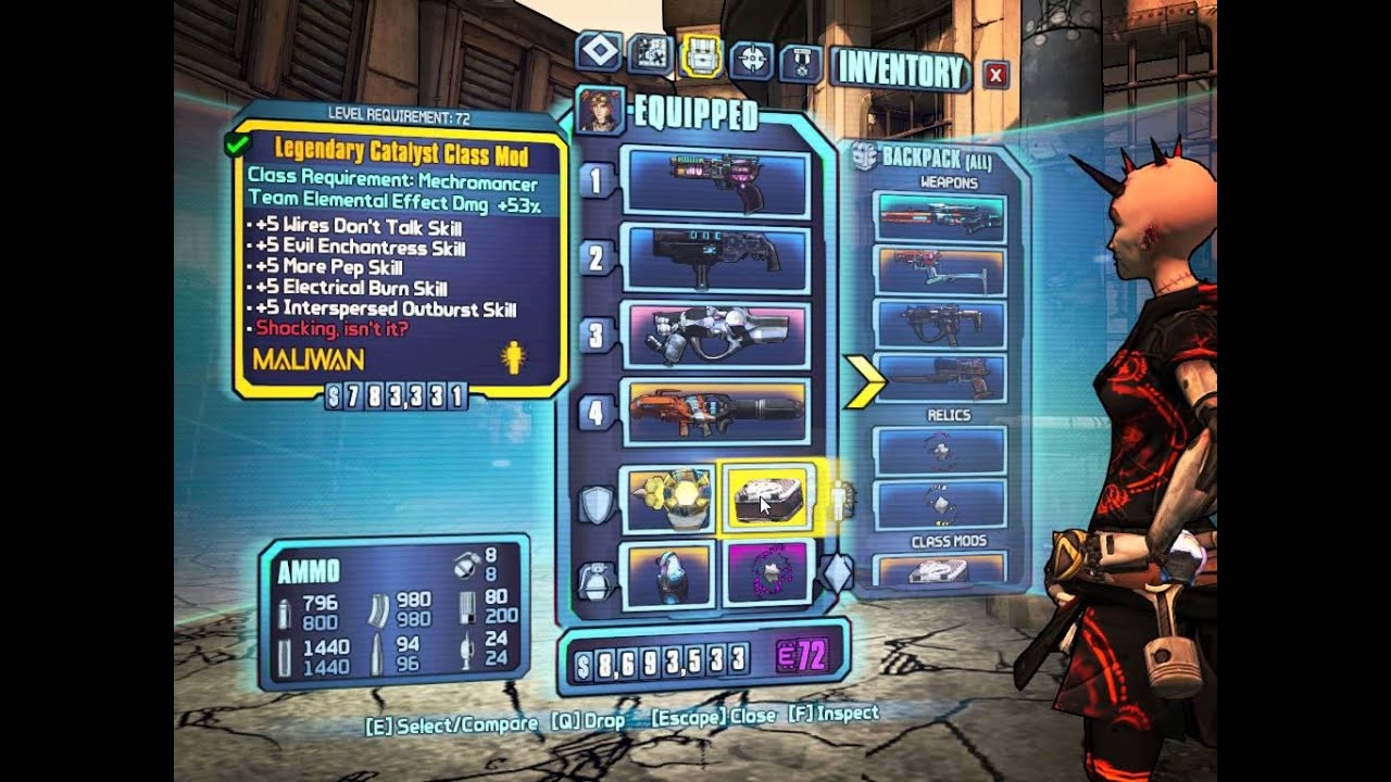 Borderlands  Mechromancer Shock Build