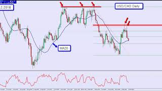 USDCAD Daily Technical analysis by AndyW - the 50 pips a day strategy (My 50 Pips a Day Strategy)
