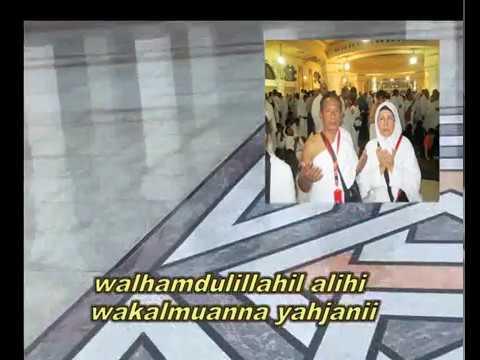 ucapan selamat menunaikan ibahadah haji bapak dan ibu Edy Hariyanto.