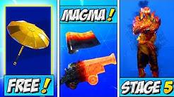 fortnite update stage 5 prisoner golden umbrella unlock magma wrap how to get lava legends pack duration 10 12 - camouflage fortnite magma