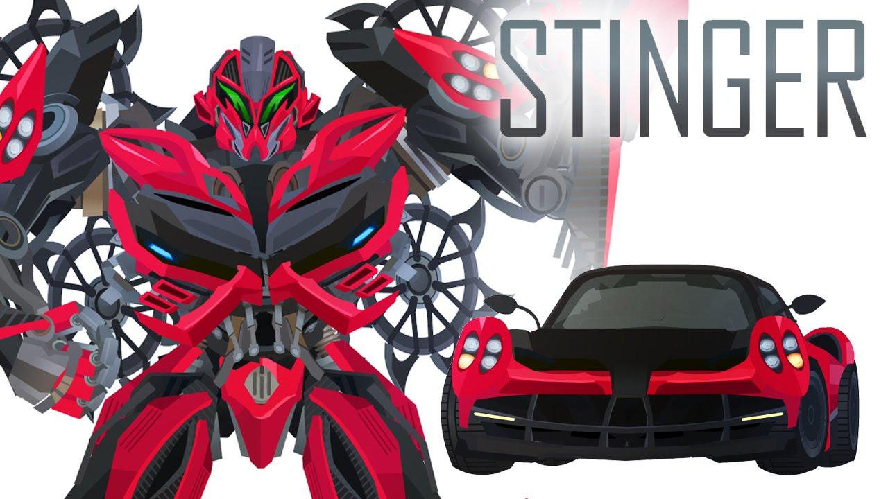 Stinger Short Flash Transformers Series Youtube