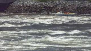 Reversing Falls Jetboat Ride! Hold On To Your Hats!