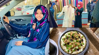 I got my Driving License | Driving, Abaya Shopping and cooking Whole Wheat PIZZA !!!