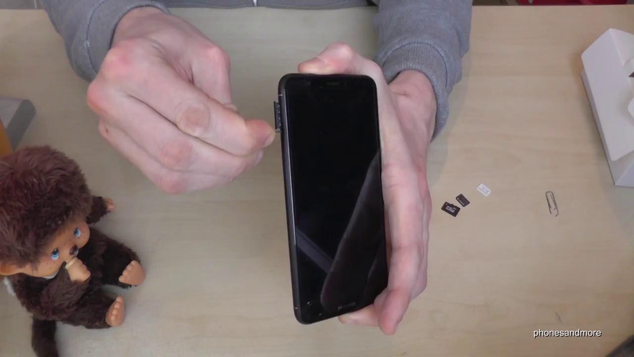 Huawei P Smart 2 Sim Karten.Huawei P Smart How To Insert The Sim Card Installation Of The Nano Sim Cards