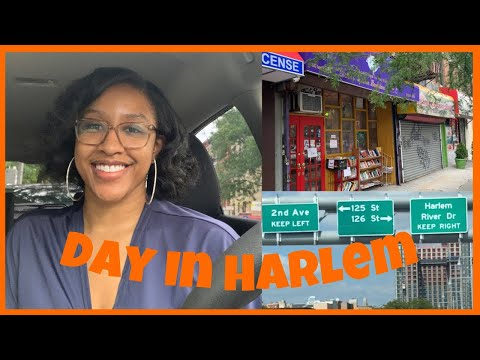 Spending the Day in Harlem NYC Vlog - Black Owned Businesses!