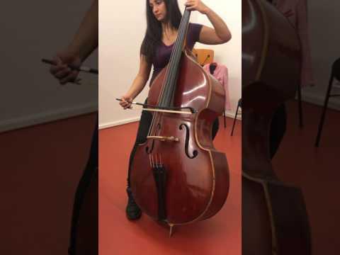 Gabriel Faure Elegie Op.24 Double Bass And Piano