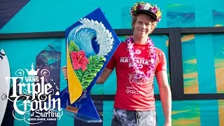 Hawaiian Pro 2016: Final Day Highlights | Vans Triple Crown of Surfing | VANS