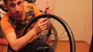 Горный велосипед - Ремонт. Как спицевать колесо(Руководство по сборке спицовке колеса. как спицевать колесо, в 3 креста, Спицовка колеса, как заспицевать..., 2015-05-07T21:59:57.000Z)