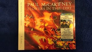 "Baixar Paul McCartney ""Flowers In The Dirt"" Best Buy Exclusive CD Unboxing"