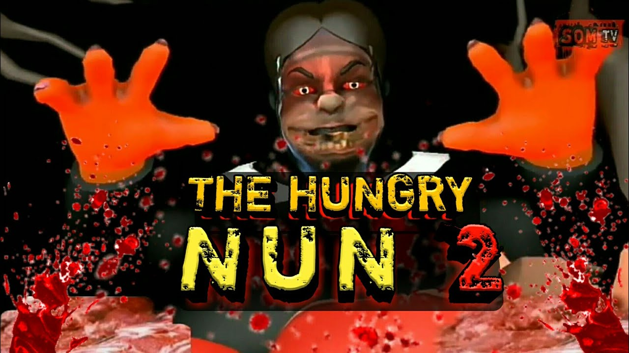 Evil nun horror story part 2 | som tv | the hungry evil nun | somtv | tik tok video