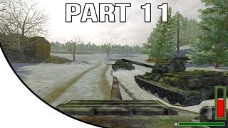 Call of Duty 1 Gameplay Walkthrough Part 11 - Soviet Campaign - Tank Mission