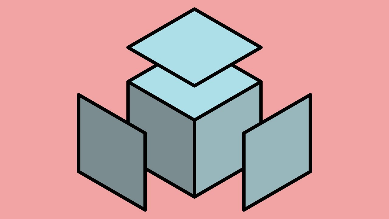 How to Instantly Draw an Isometric Cube - Adobe Illustrator Tutorial