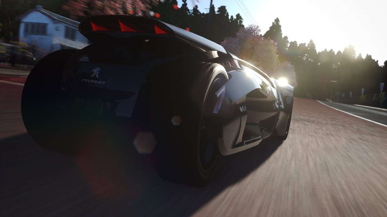 DRIVECLUB PS4 | Peugeot EX1 Concept Gameplay Preview   YouTube