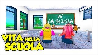 VITA NELLA SCUOLA! - Roblox ITA w/ Two Players One Console