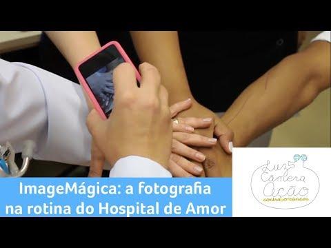 Luz, Câmera e Ação - 24/9/2018 - Projeto ImageMágica: a fotografia na rotina do Hospital de Amor