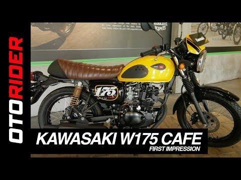 Kawasaki W175 Cafe 2019 Indonesia First Impression Otorider