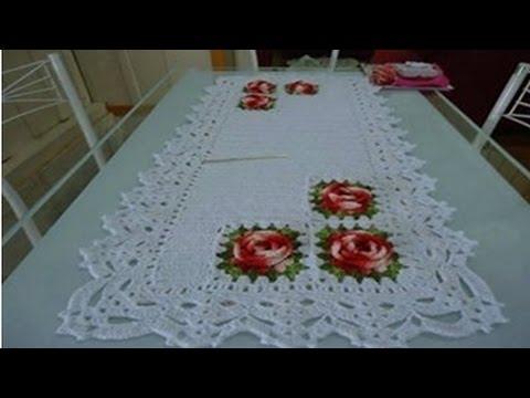 Manteles de mesas y cobertores para comedores tejidos a - Manteles para mesa ...