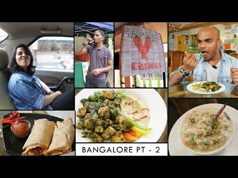 Trip to Bangalore : Part 2 | Carrots Restaurant | Vegan Food | IVR Explore