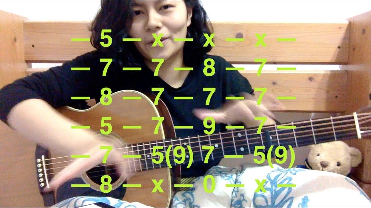 Mystery Of Love Sufjan Stevens Guitar Tutorial With Tabs Youtube
