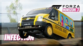 Forza Horizon 3 - Ms. Frizzle is Back! NEAR Misses, Jumps, and More!