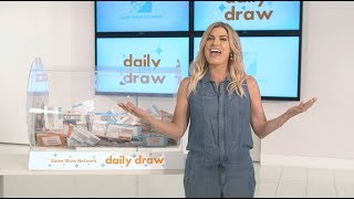 Daily Draw $500 Winner with Trish Suhr | September 20, 2018 | Game Show Network