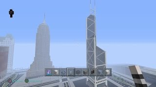 Minecraft : Bank of China tutorial Part 1 - Mr EuphoniumPS4