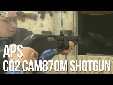 APS CO2 CAM870M Shell Ejecting Airsoft Sgun - AirSplat On Demand