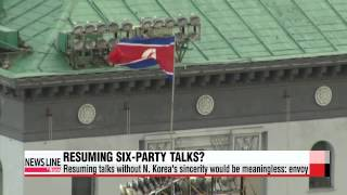 Six-party talks can resume if N. Korea shows sincerity about denuclearization