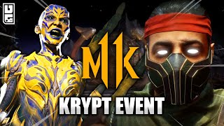 Mortal Kombat 11 - RARE D'Vorah Gear & Cassie Move!! (Krypt Event #14)