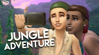 INTO THE JUNGLE // The Sims 4: Jungle Adventure Gameplay #1