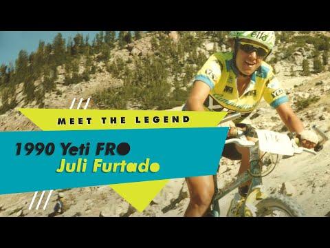 TPC Museum Series #2: Juli Furtado's 1990 Yeti FRO