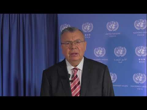 UNODC Chief, Yury Fedotov, on new counter-terrorism programme in Iraq