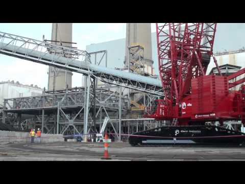 Manitowoc 18000 Crane with MAX-ER and Luffing Jib - Product Demo