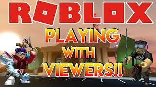 🌎🎮 | 🔴 Live Stream #112 | Roblox | PLAYING WITH VIEWERS!! 🎮 🌎