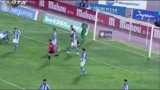 Mallorca 6 - 1 Real Sociedad. Goles Uruguayos: Chori Castro y Diego Ifrán. Copa del Rey. 10/01/2012