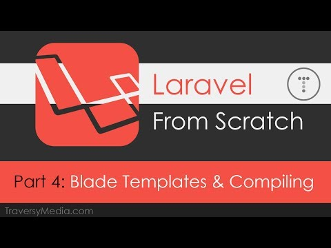 Laravel From Scratch [Part 4] - Blade Templating & Compiling Assets