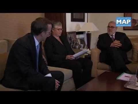 Benkirane s'entretient avec la directrice générale de l'Agence française de développement