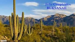 Ruksanah   Nature & Naturaleza