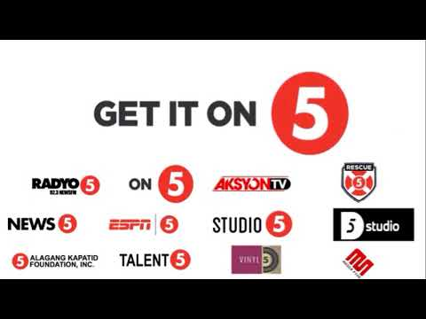 Get It On - Loonie (TV5 Station ID Get It on 5 - 2018)