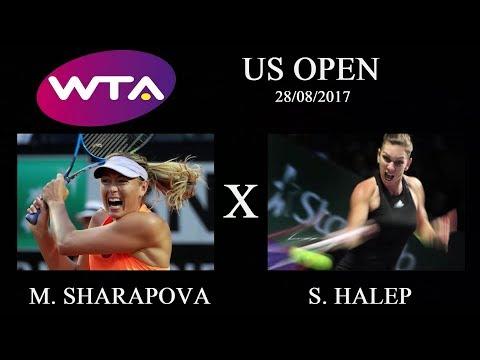 O GAMESTER - Sharapova x Halep - 28/08/17 (Trade puro sem enrolação)