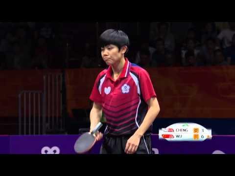 2015 WTTC WS R16 CHENG I Ching TPE vs WU Yang CHN