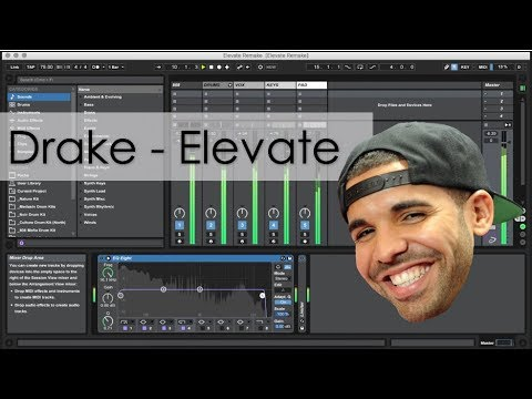 Drake - Elevate Instrumental Remake [WITH PROJECT FILE]