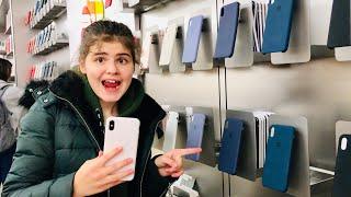 America ВЫБИРАЮ ЧЕХЛЫ НА МОЙ IPhone в Apple Store