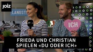 Bachelorette Frieda Hodel & Christian im «Du oder Ich»-Quiz