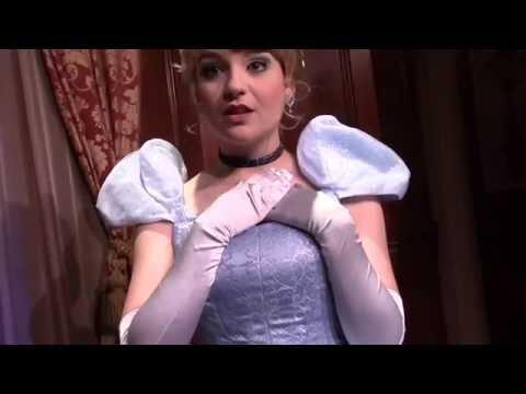 Meeting Princess Cinderella At Walt Disney World