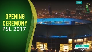 psl 2017 the opening ceremony