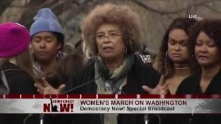 Full Speech: Legendary Activist Angela Davis at Women's March on Washington