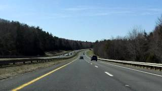 Massachusetts Turnpike (Interstate 90 Exits 3 to 2) westbound (Part 2/3)